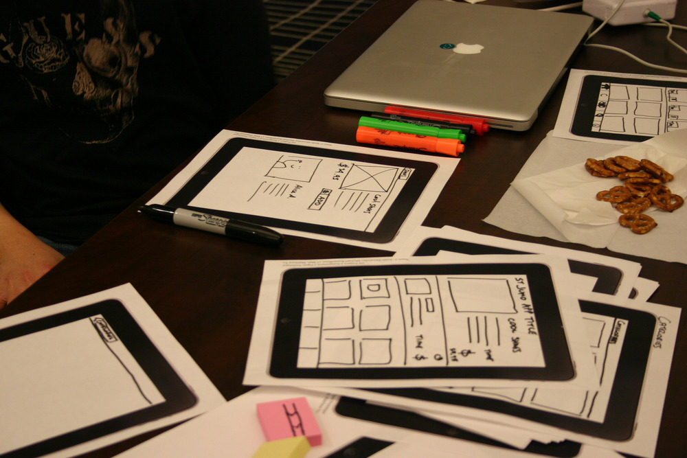 Paper Prototyping for mobile