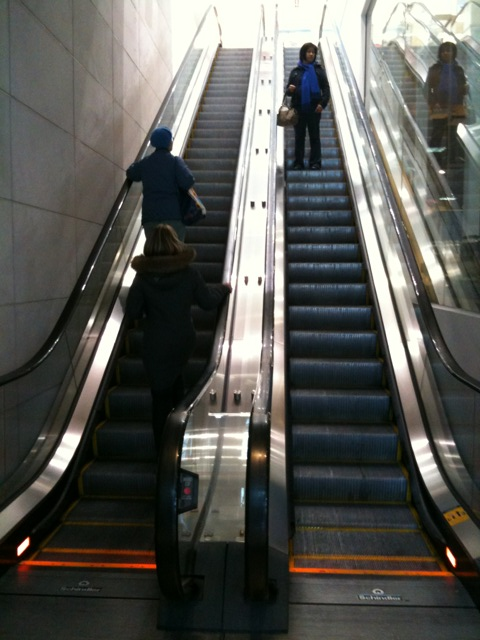 Great expectations: Breaking escalator convention